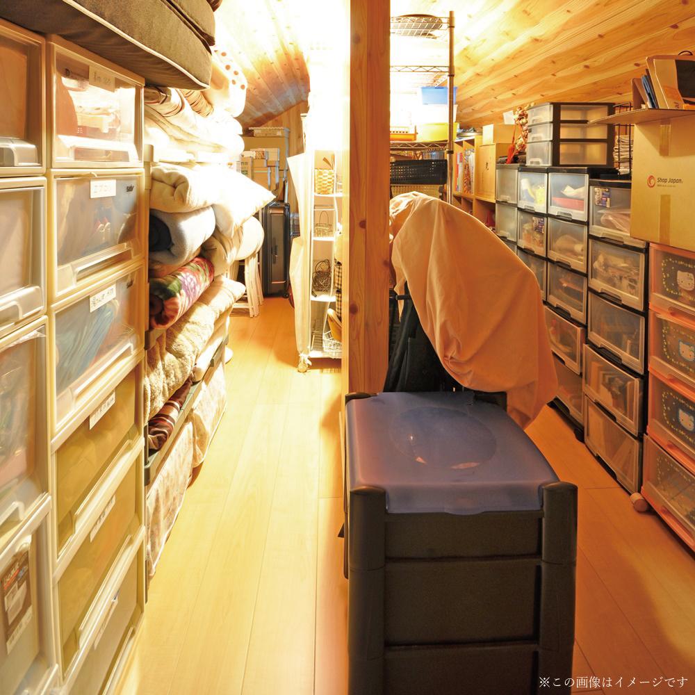 小屋裏収納スペース